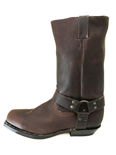 Dark Good 4049 Boots Year Leather Welt 44 Brown Vintage El Charro xqt5wRYn0