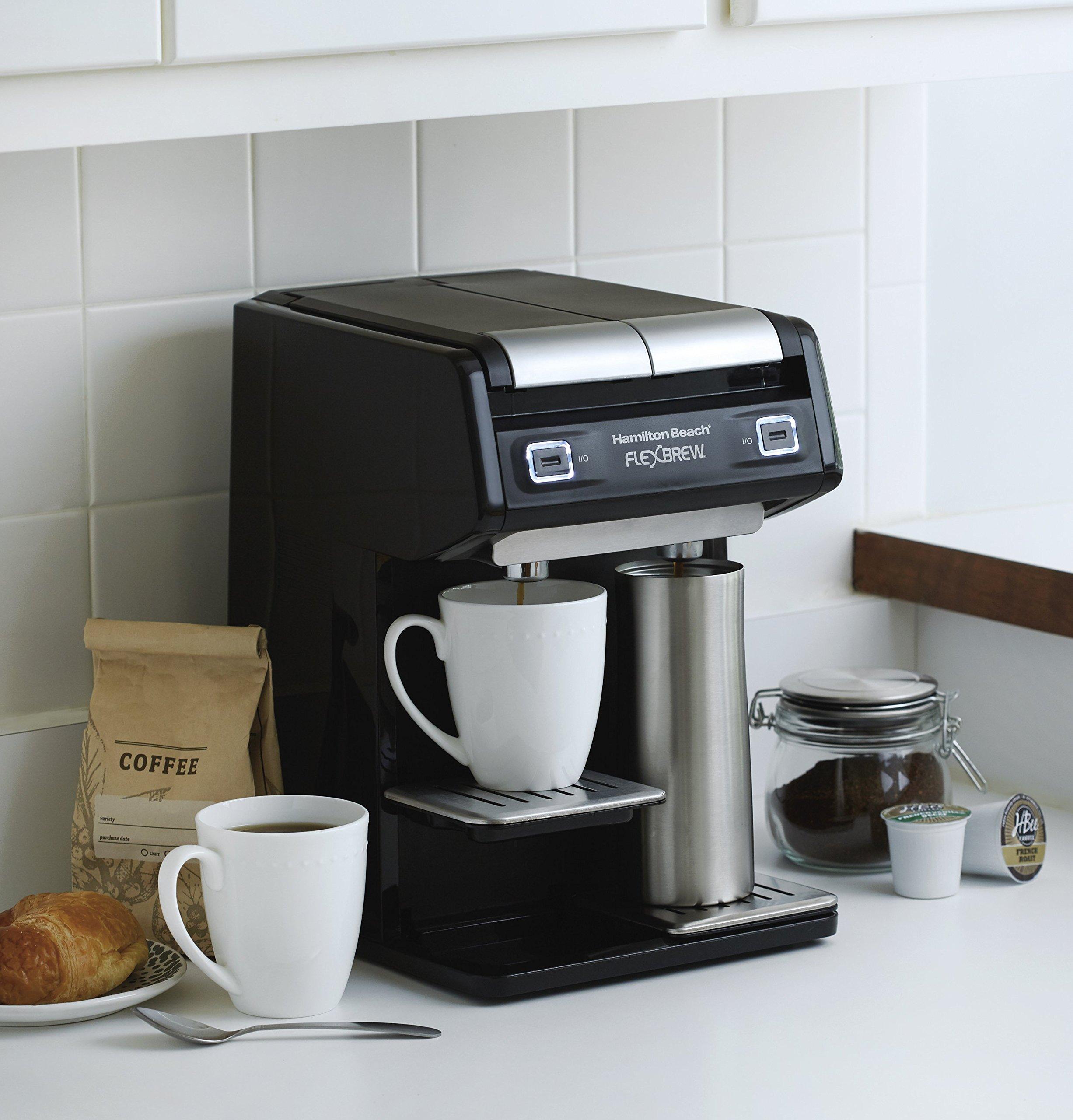 Hamilton Beach 49998 FlexBrew Dual Single Serve Coffee Maker, Black by Hamilton Beach (Image #5)