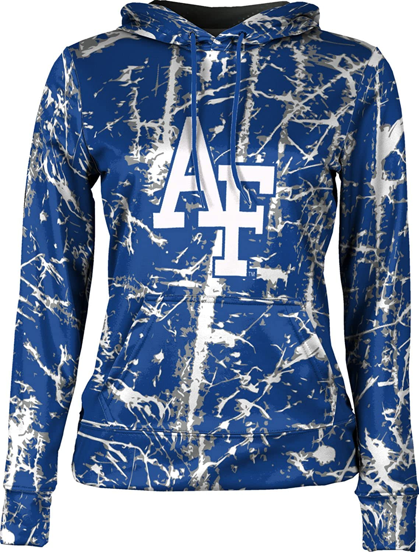 School Spirit Sweatshirt Distressed Air Force Academy Girls Pullover Hoodie ProSphere U.S