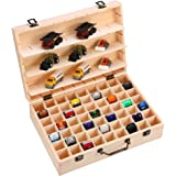 DRZERUI Storage Case for Hot Wheels Cars / Matchbox Cars , Toy Car Organizer with Removable Partition Holds 63 Cars, Car Disp
