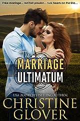 The Marriage Ultimatum Kindle Edition