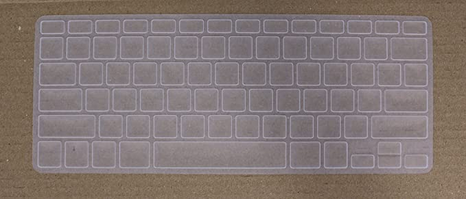 Saco Chiclet Keyboard Skin for nbsp;Apple nbsp;MD761HN/B MacBook Air   Transparent Dust Covers for Keyboard   Mouse