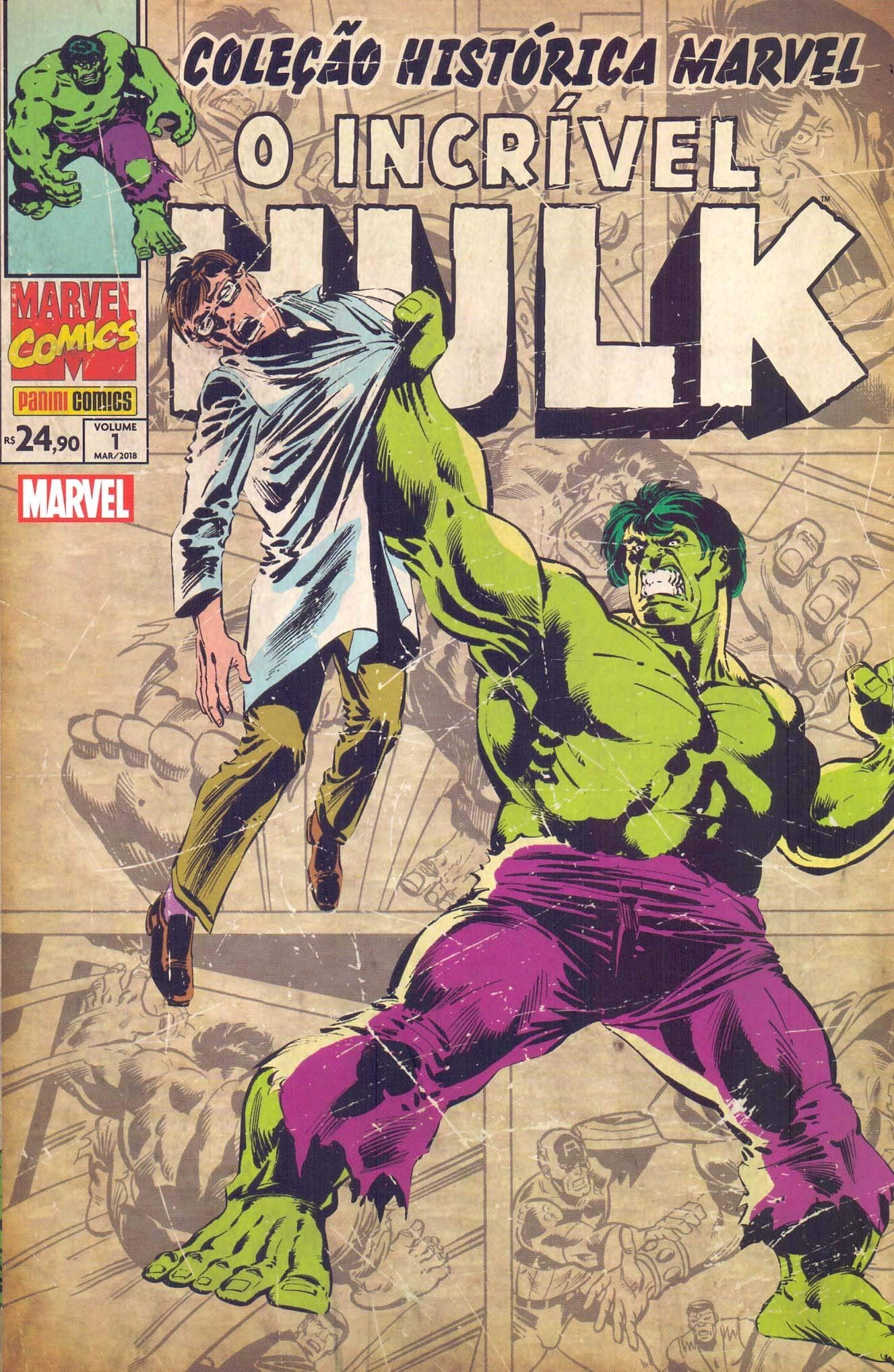 Coleção Histórica Marvel. O Incrível Hulk - Volume 1 ...