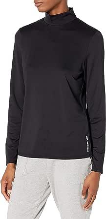 PGA TOUR Women's Standard Long Sleeve Mock Neck