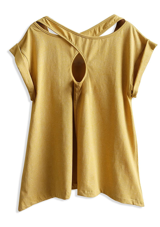TeeMixed Women Flowy T-Shirts Thankful Blessed Grateful