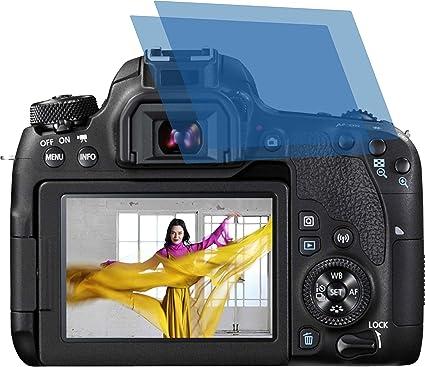 2 x Anti Reflex Mate – Protector de pantalla para Canon EOS 77d ...