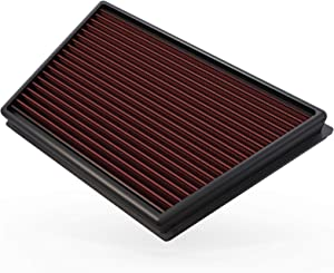K&N Engine Air Filter: High Performance, Premium, Washable, Replacement Filter: 2011-2018 Land Rover L4 (Discovery Sport, Range Rover Evoque, LR2, Freelander), 33-2991
