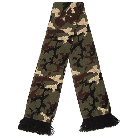 Floso - Sciarpa a maglia Invernale Mimetica - Unisex (Taglia unica) (Blu)   Amazon.it  Abbigliamento 69ec901c5d82