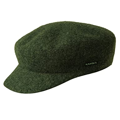 0ca03ca57c0 Kangol WOOL MAU CAP  LODEN GREEN  (Small)  Amazon.co.uk  Clothing