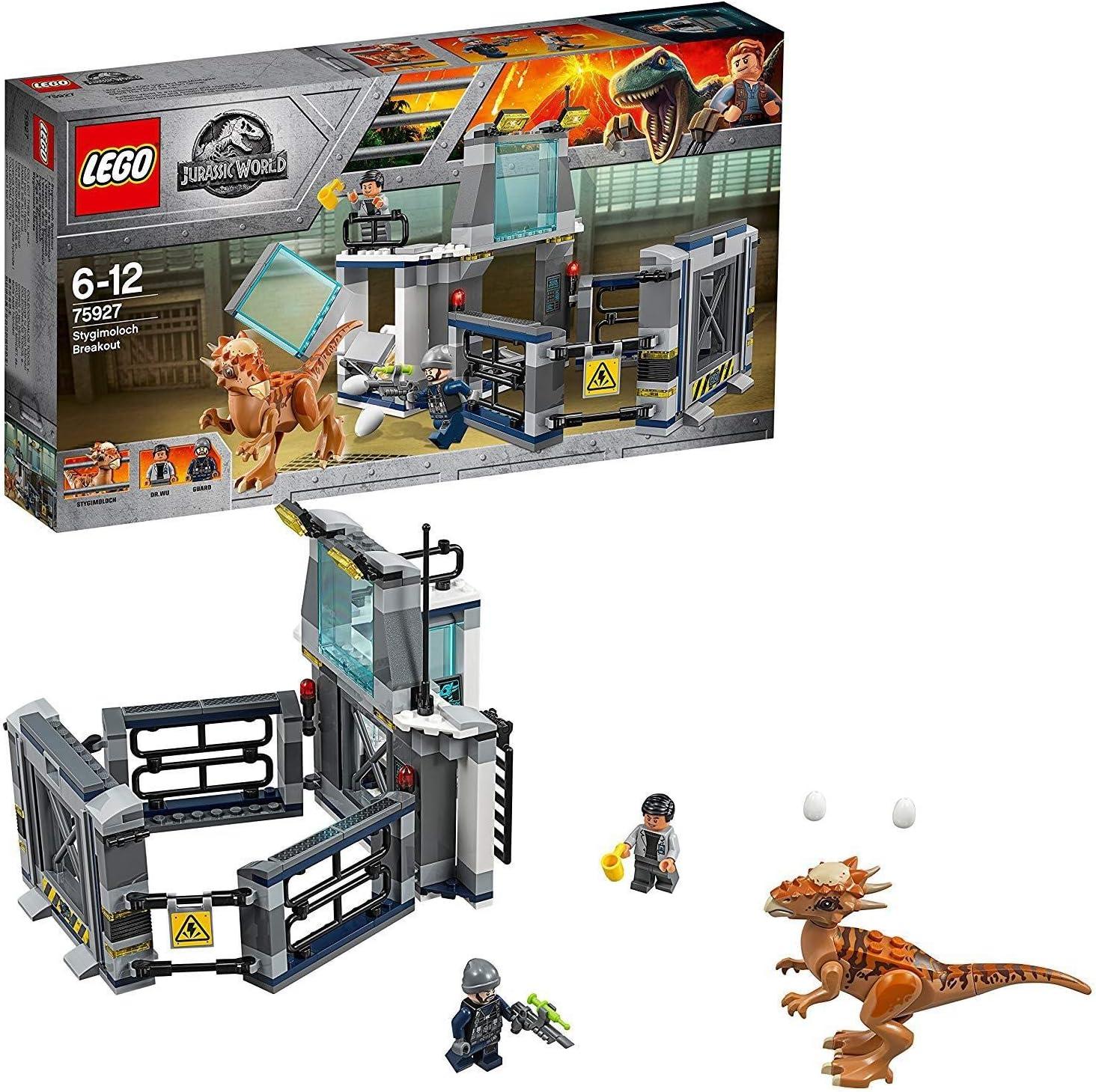 LEGO Jurassic World Escape The Stygi Moloch 75927 Entertainment Toy for Boys & Girls
