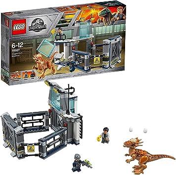 LEGO Jurassic World L'evasione dello Stygimoloch, Multicolore