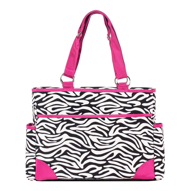 Amazon Com Soho Pink With Black Amp White Zebra Chenille