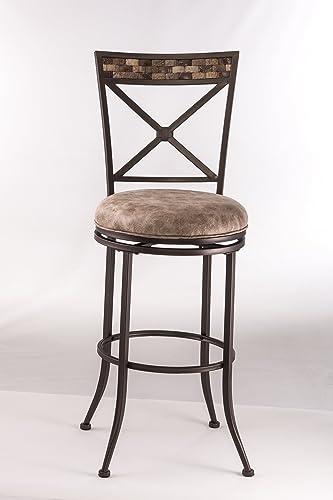 Hillsdale Furniture Compton Swivel Bar Stool