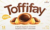 TOFFIFAY Hazelnut Candies, 12 Piece Box