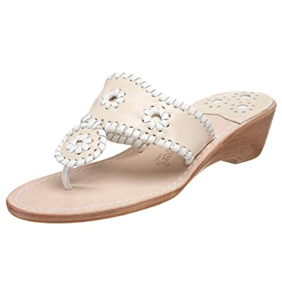 8b0a620d43db59 Jack Rogers Women s Palm Beach Midwedge Sandal