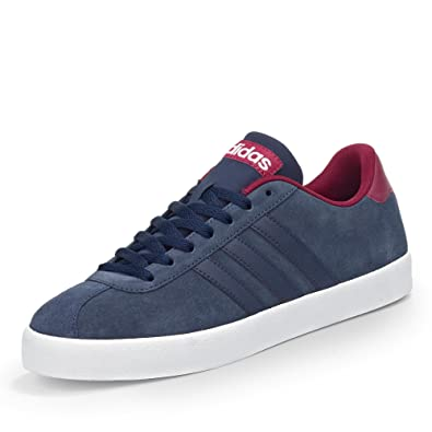 Chaussures Adidas Court bleues homme 7f96wo
