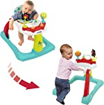 Kolcraft Tiny Steps 2-in-1 Infant & Baby Activity Walker - Seated