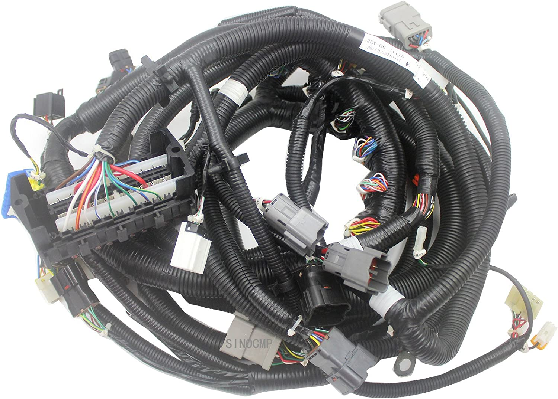 [XOTG_4463]  Amazon.com: 20Y-06-31110 Internal Wiring Harness (old) - SINOCMP Inside Wiring  Harness for Komatsu PC200-7 Excavator Aftermarket Parts, 3 Month Warranty:  Automotive   7 3 Wire Harness      Amazon.com