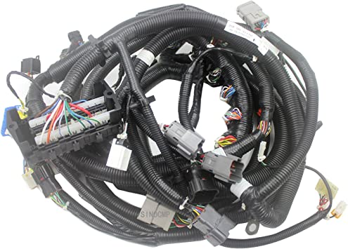 Amazon.com: 20Y-06-31110 Internal Wiring Harness (old) - SINOCMP Inside Wiring  Harness for Komatsu PC200-7 Excavator Aftermarket Parts, 3 Month Warranty:  AutomotiveAmazon.com