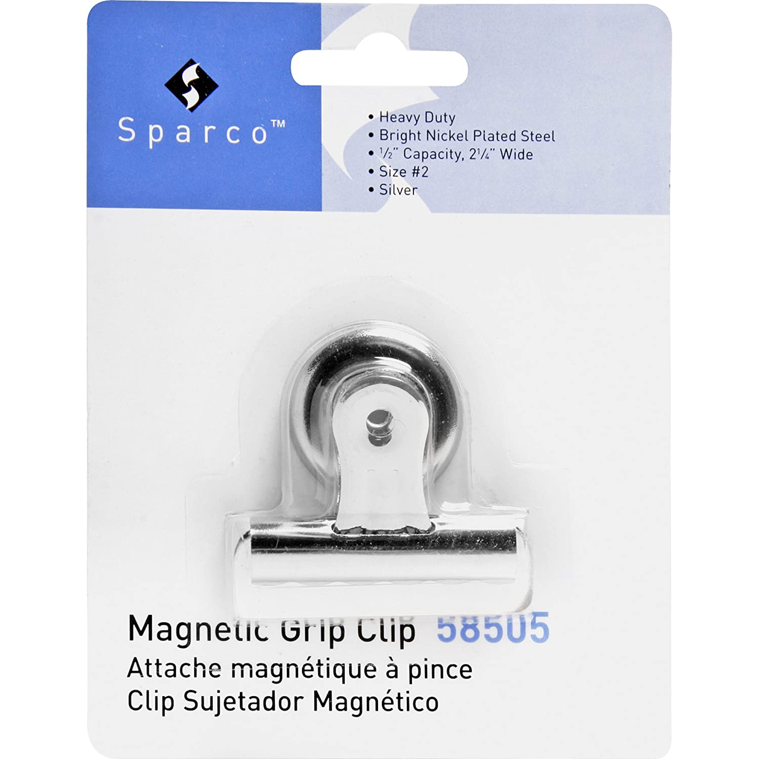 Amazon.com : Business Source Magnetic Grip Clips : Binder Clips : Office Products