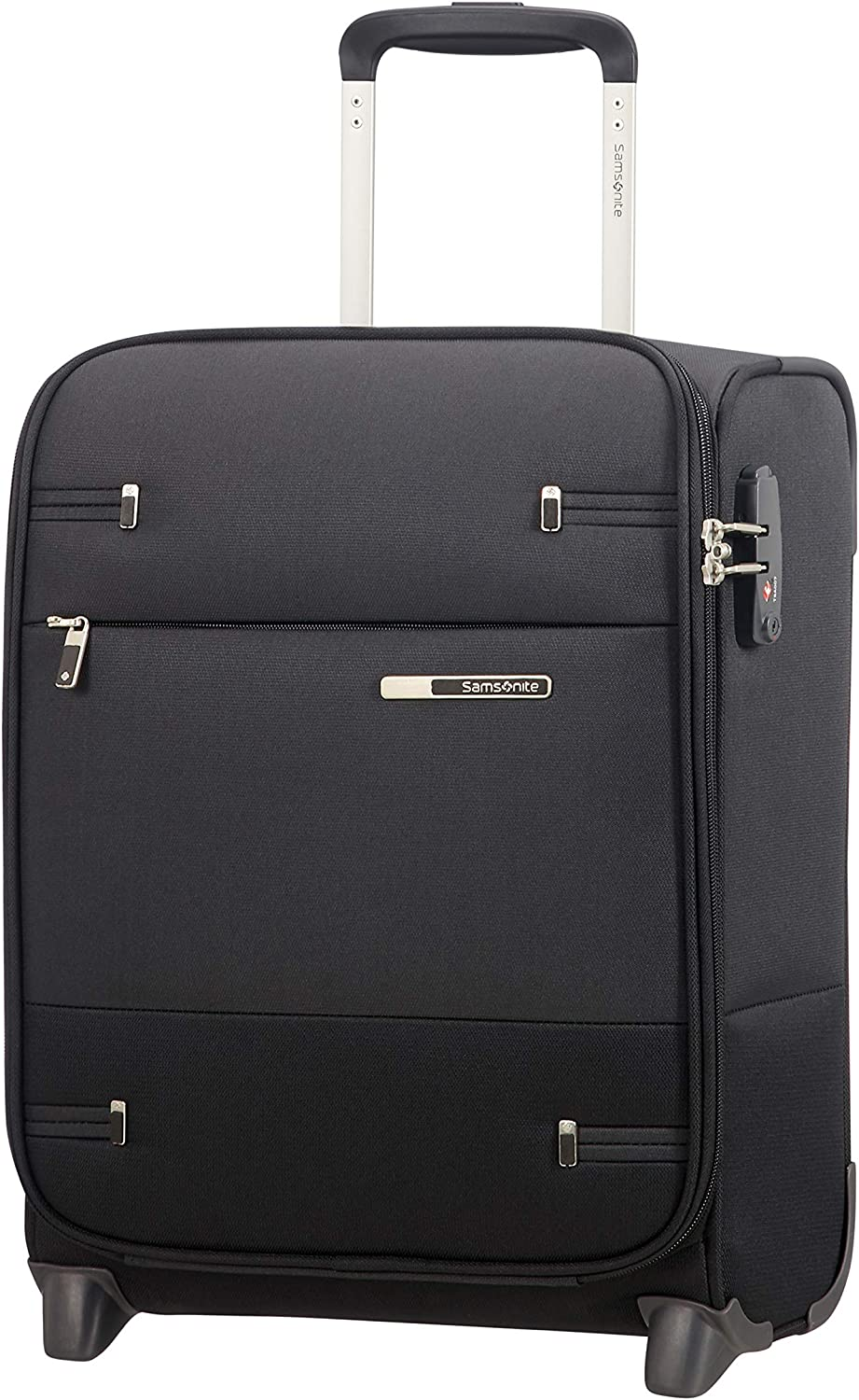 Samsonite Base Boost Upright XS Underseater Equipaje de Mano, 45 cm, 26 L, Negro (Black)