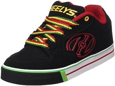 brand new 89d2d 5710f Heelys Boy s Motion Plus (Little Kid Big Kid Adult) Black Reggae