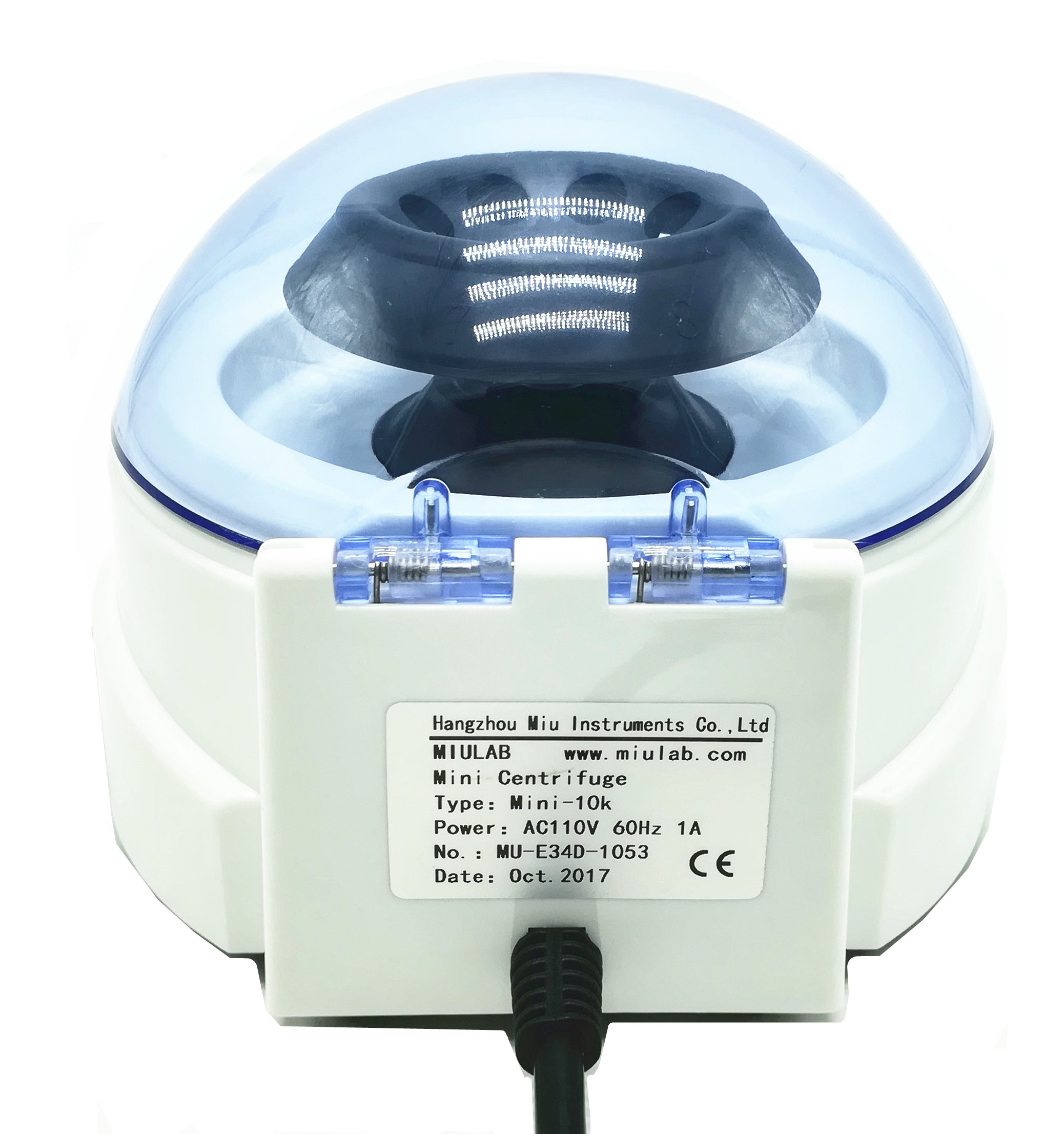 CGOLDENWALL New lab portable Mini Centrifuge machine Equipment small Centrifuge Mini-10K Speed:10000rpm by CGOLDENWALL