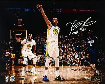 29db02718c79 Kevin Durant Golden State Warriors Autographed 16 quot  x 20 quot   Photograph with quot 20K PTS quot