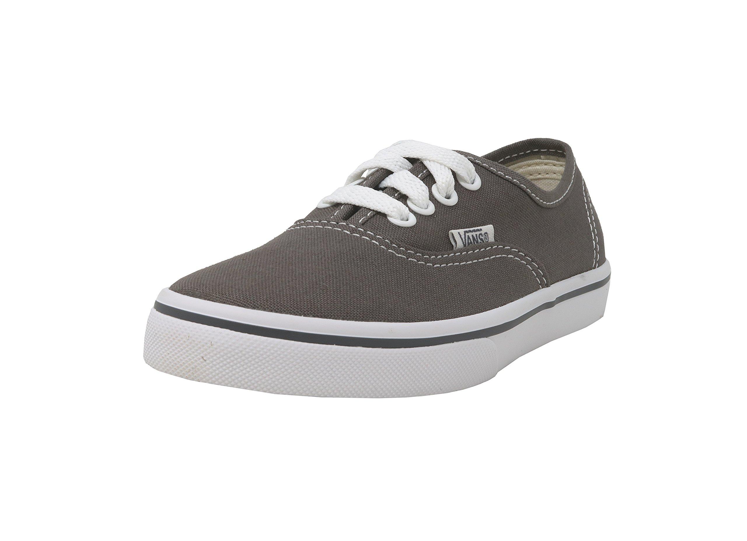 Vans Kids Authentic Lo Pro Casual Shoe Pewter - Little Kid - 11