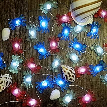c60b9fc2e2d6 Amazon.com   IMPRESS LIFE Marina Theme Christmas Decorative String ...