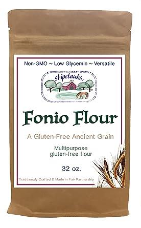 shipetaukin fonio Multipurpose sin gluten Harina, 2 libras ...