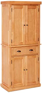 Home Styles 5055-69 Nantucket Natural Pantry Clear Maple Finish