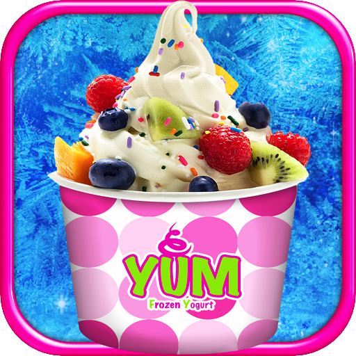 Frozen Yogurt Yum! - Berry Frozen Yogurt