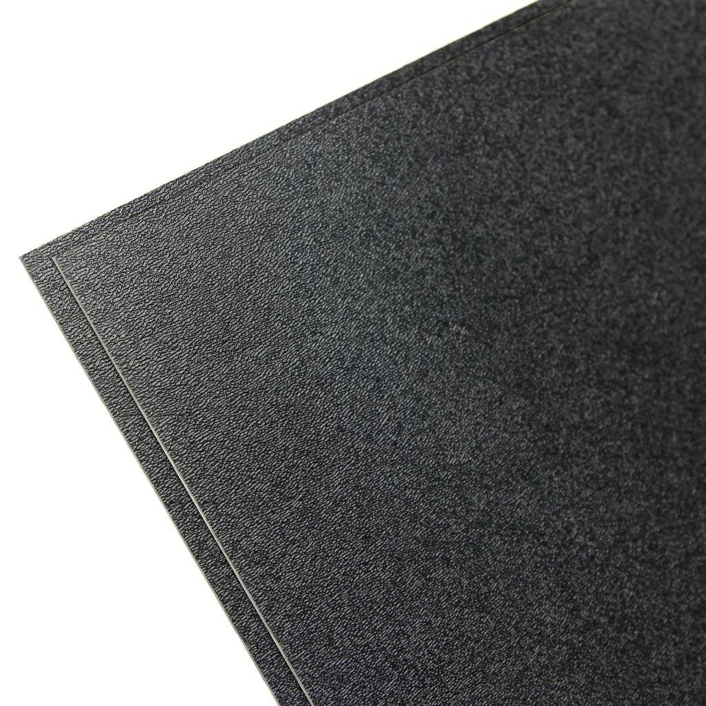 Falken Design ABS-BK-0.090/1224 ABS Textured Plastic Sheet 0.0900'', 12'' x 24'' - Black, Plastic