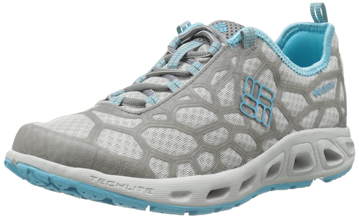 Columbia Women s Megavent Trail Shoe Oyster/Opal Blue 7 B(M) US: Buy Online  at Low Prices in India - Amazon.in