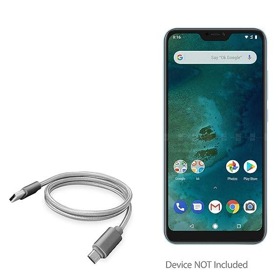 Amazon com: Xiaomi Mi A2 Lite Cable, BoxWave [Micro USB