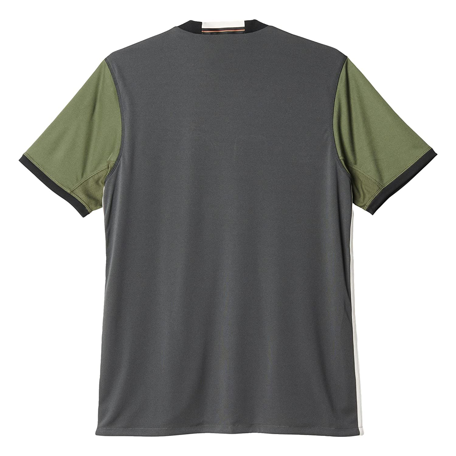 Amazon.com   adidas Men s Germany 15 16 Away Dark Grey Heather Legacy  Whit Base Green   Sports   Outdoors 2fe4799e7