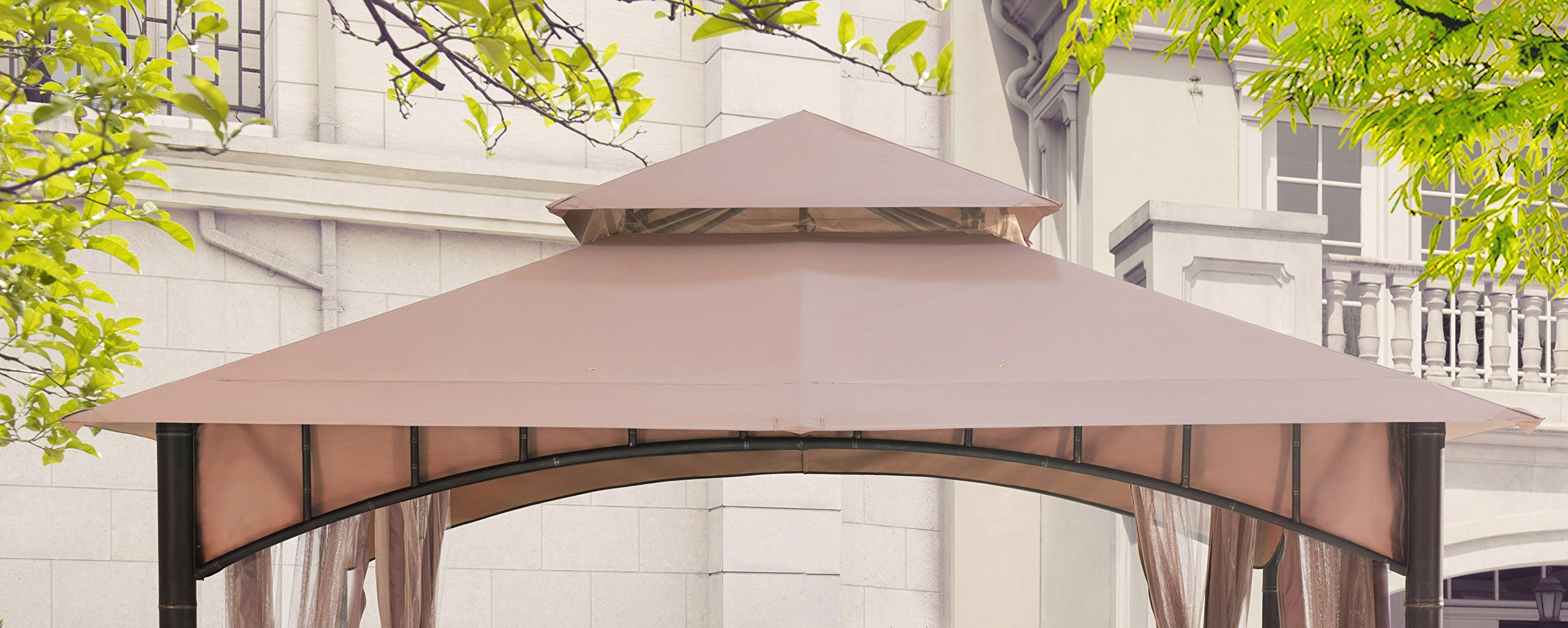 Sunjoy Canopy Accessory Replacement for Gazebo D-GZ136PST-N
