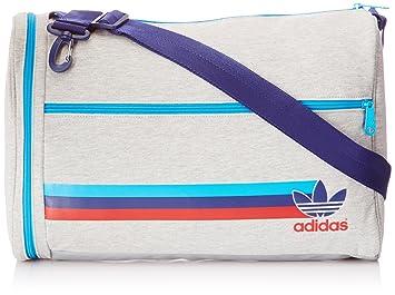 adidas Men s Jersey Airliner 2 Shoulder Bag - Grey Heather Solar Blue Night  Sky 1786db77cd