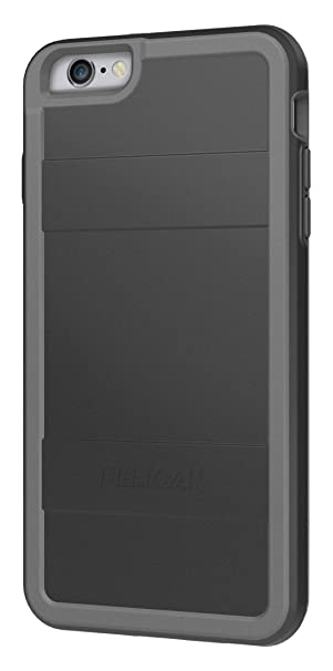 new styles f30fb d0f0d Pelican Cell Phone Case for Apple iPhone 6Plus/6s Plus - Retail Packaging -  Black/Gray