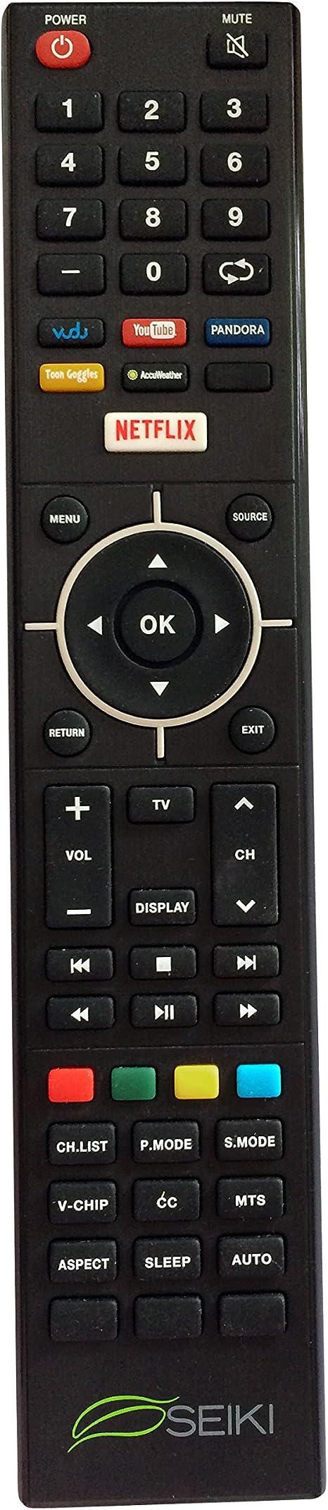 Nueva Seiki Seiki Smart TV Mando a Distancia para SEIKI se32hy19t Smart TV Mando a Distancia: Amazon.es: Electrónica