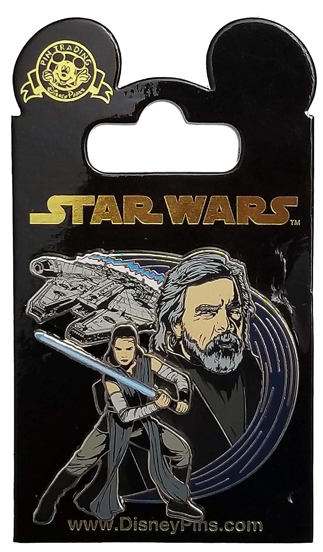 Disney Pin - Star Wars - The Last Jedi - Rey and Luke Skywalker