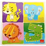 Goula - 53111 - Puzzle - Boutons - Animaux Jungle