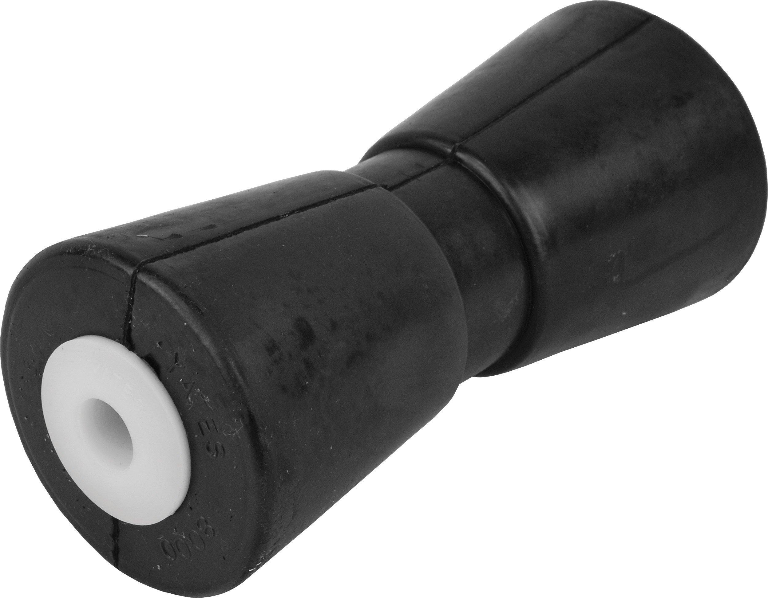 attwood Heavy-Duty Rubber Keel Roller, 10'' x 5/8'' Shaft