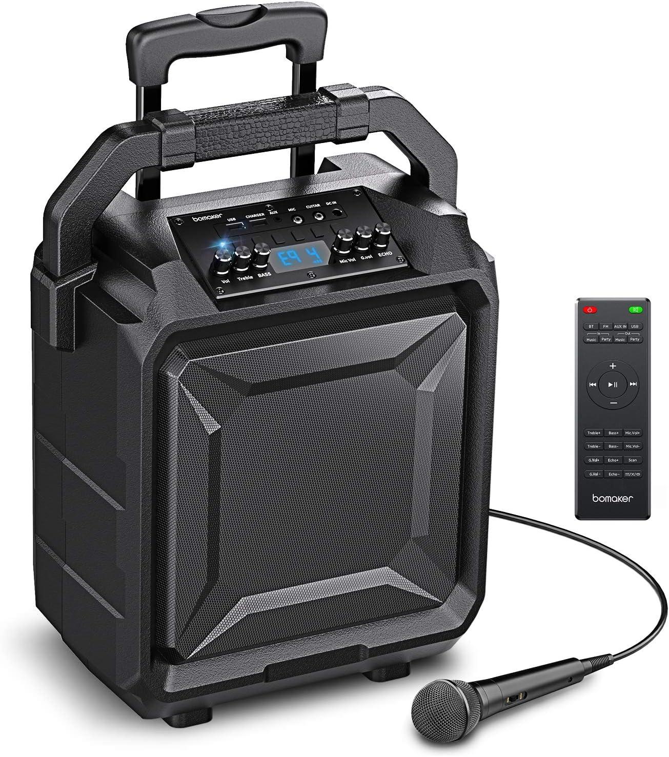 Bomaker 500W Sistema de Megafonía y Anuncio con ...