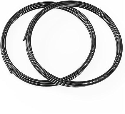 Auprotec Bremsleitung Ø 6 00 Mm Stahl Verkupfert Kunststoffbeschichtet 1m 2m 3m 5m Oder 10m Auswahl 10 Meter Auto