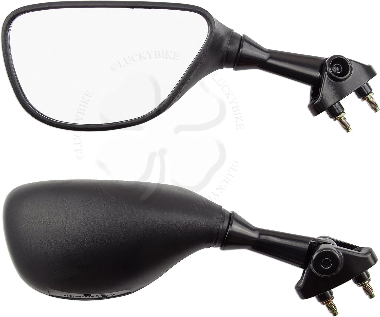 Rear View Mirror Black For Kawasaki Ninja ZX 6R 9R ZZR 600 05-08 Hand Glas Right