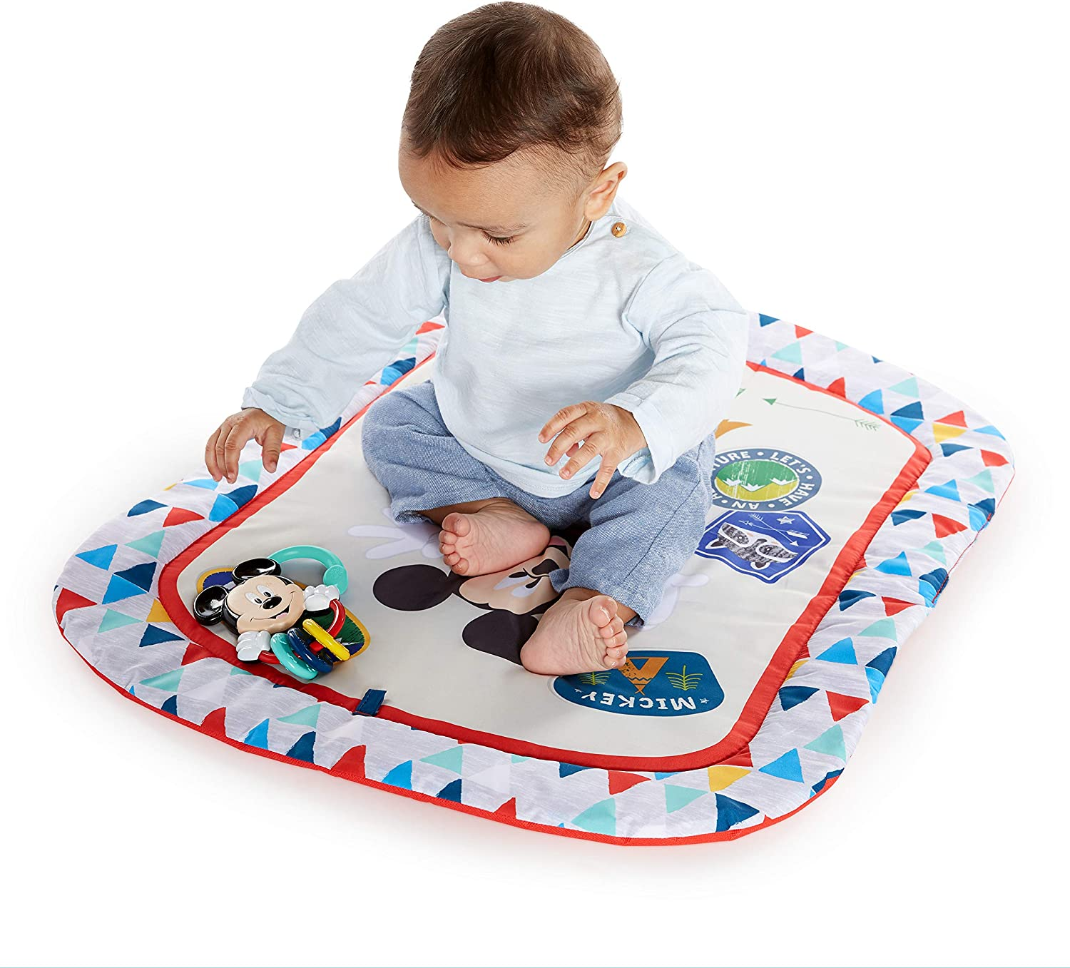 Disney Tapis d/Éveil Mickey Mouse Camping With Friends/™