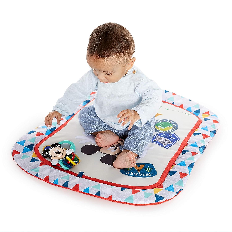st/ützende Spieldecke Disney Baby Micky Maus