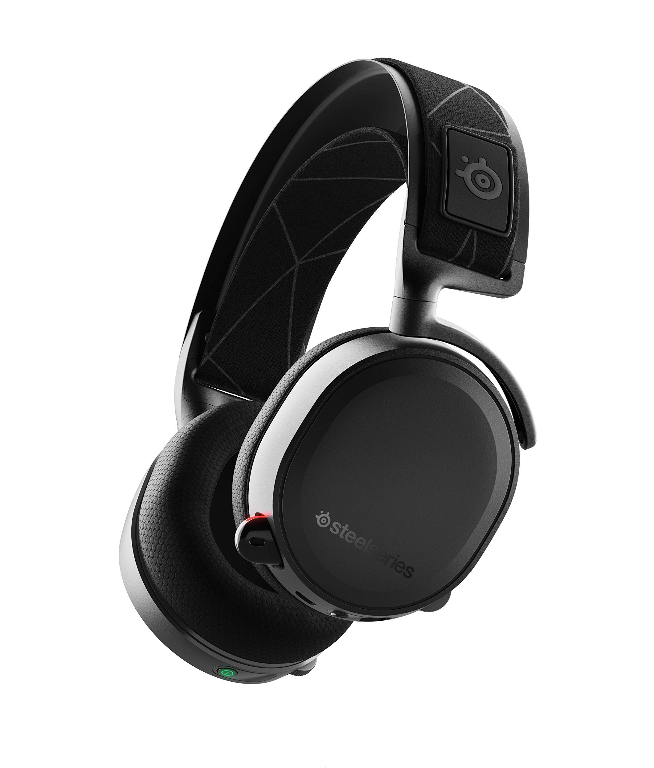 Arctis 7 Wiress DTS 7.1 Surround for PC Gaming Headphone White (Certified Refurbished)